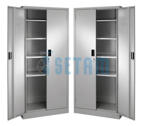 armoires m talliques pas cher armoire presta en lot de 2. Black Bedroom Furniture Sets. Home Design Ideas