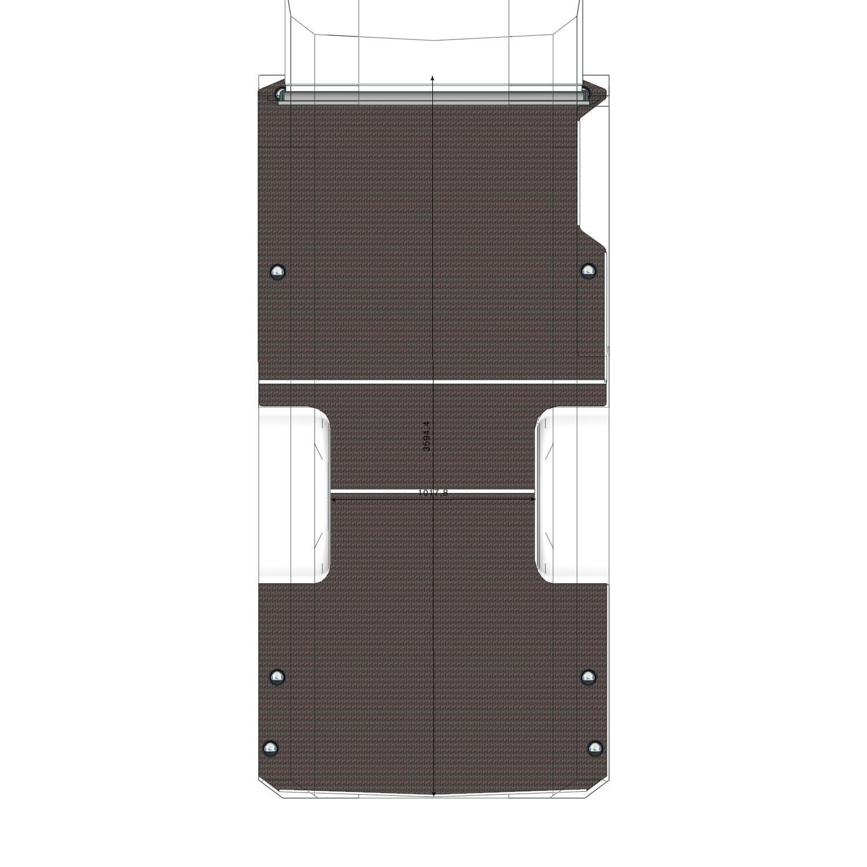 Plancher bois Daily Iveco L2 roues jumelées