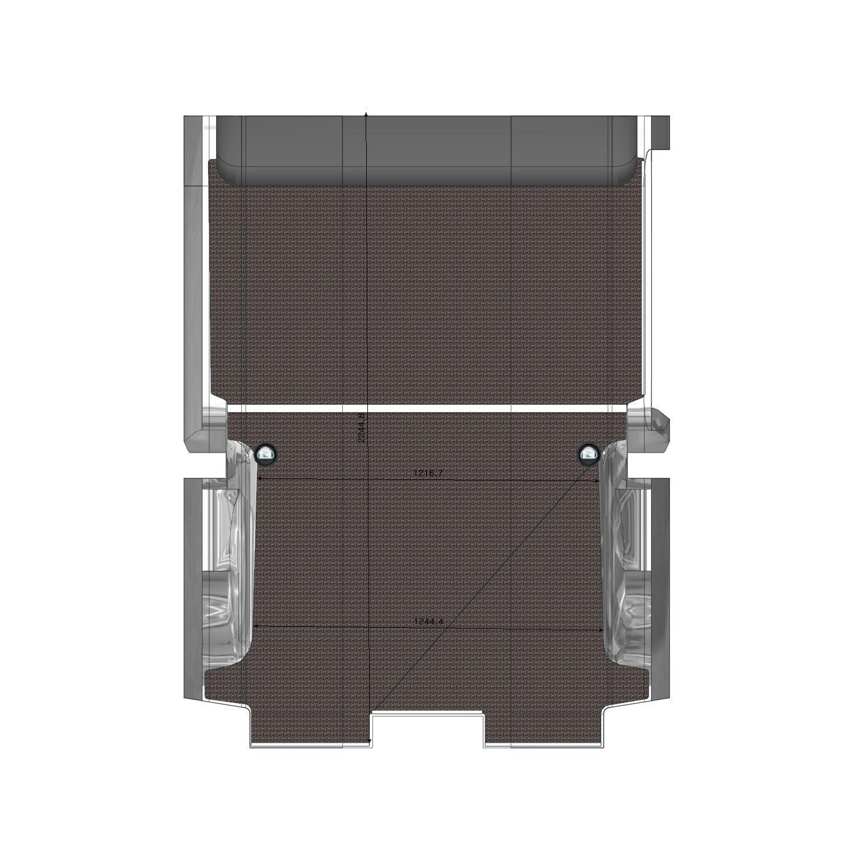 Plancher bois Expert Utilitaire L1 Porte Latérale Droite