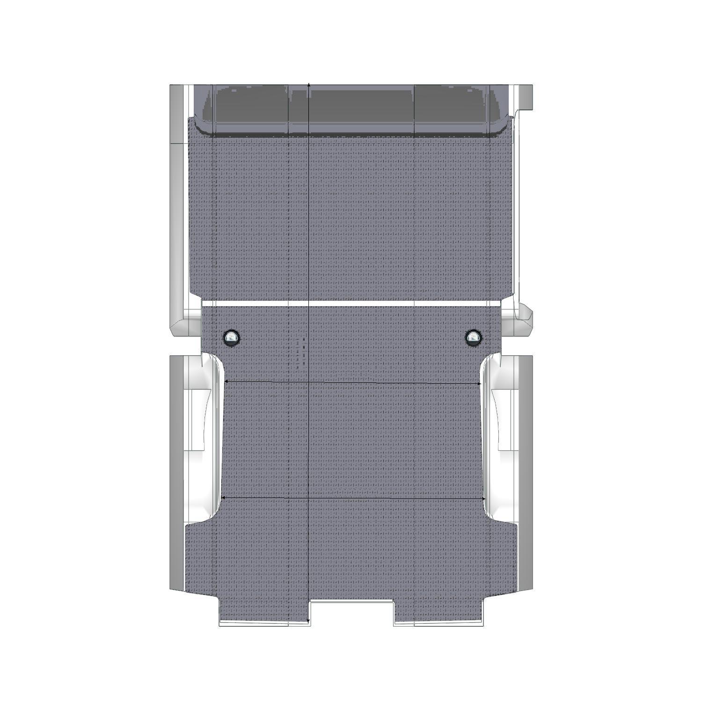 Plancher bois Expert Utilitaire XL Long Porte Latérale Droite