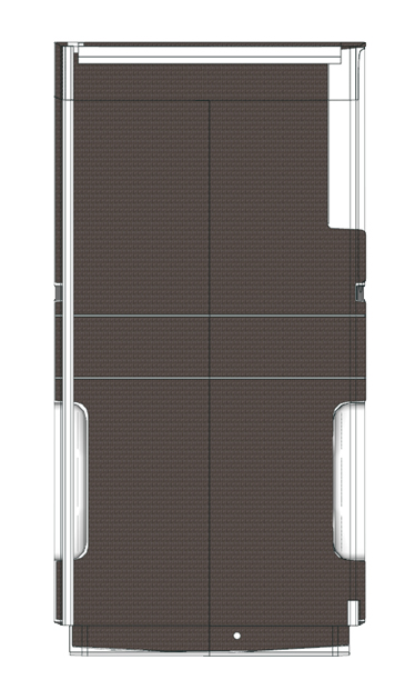 Plancher bois Ford Transit L3 propulsion