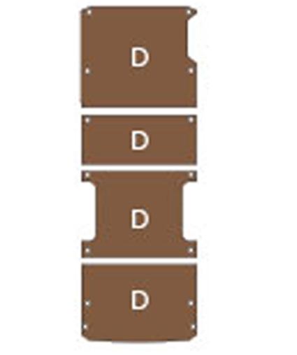 Plancher bois Iveco Daily L3 depuis 2014