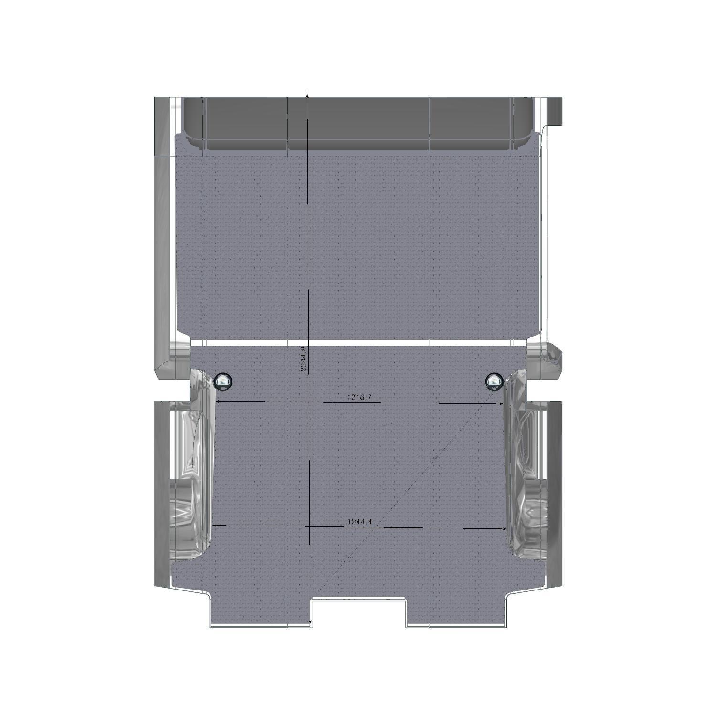 Plancher bois ProAce Compact Porte Latérale Droite