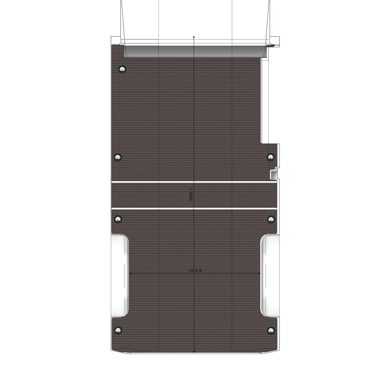 Plancher bois Transit L3 Propulsion