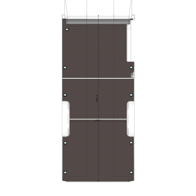 Plancher bois Transit L3L propulsion
