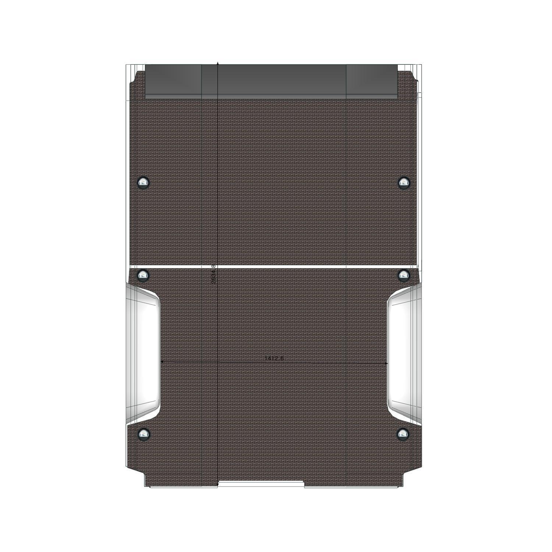 Plancher Boxer en bois version utilitaire L1