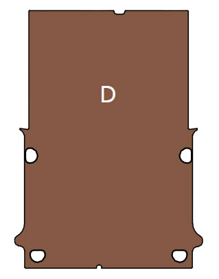 Plancher Dacia Dokker