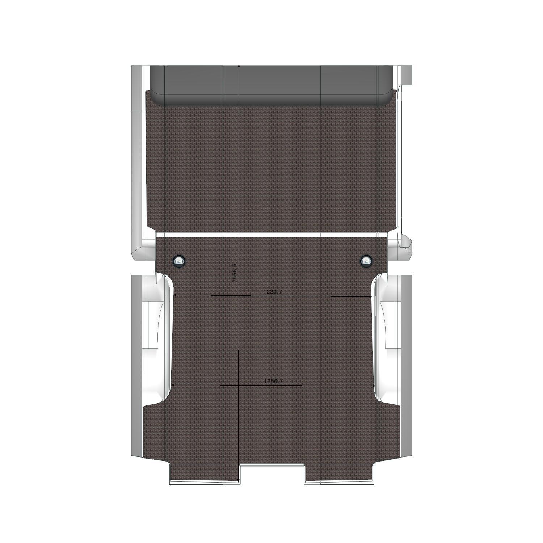 Plancher Expert Utilitaire L2 Porte Latérale Droite