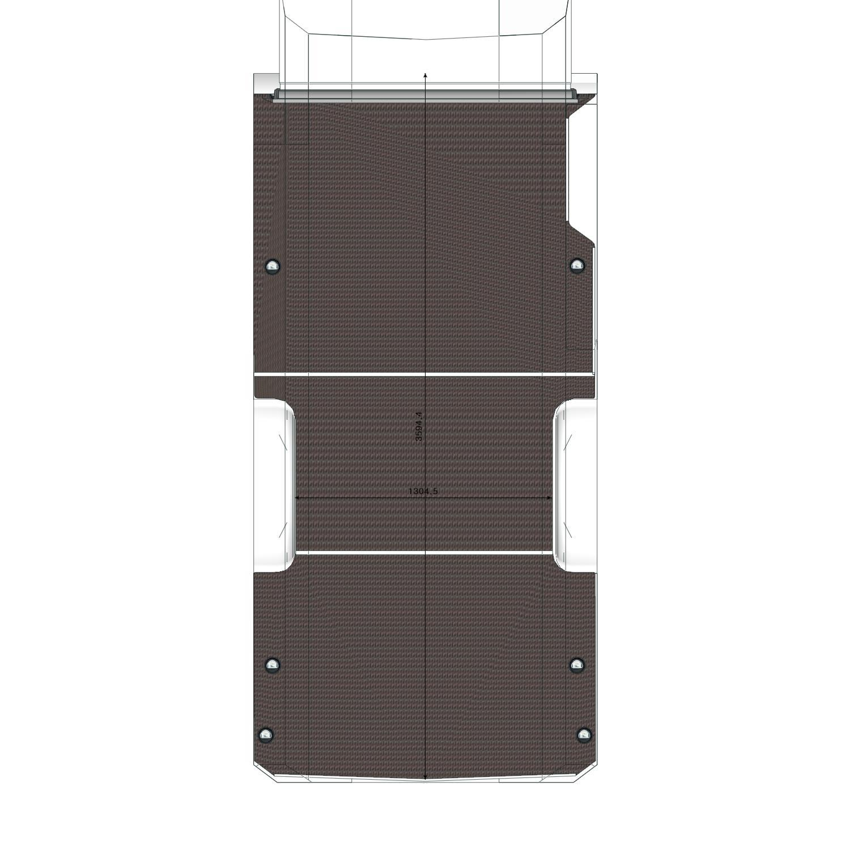 Plancher Iveco Daily L2 Porte Latérale Droite