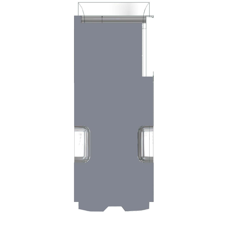 Plancher Master Utilitaire L4 Propulsion avec roues séparées