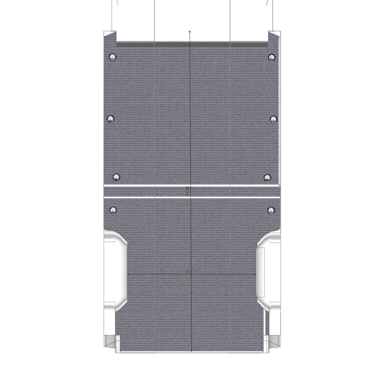 Plancher pour NV400 fourgon L2
