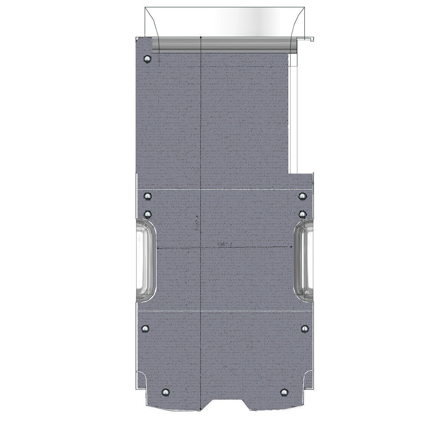 Plancher protection Opel Movano L3 propulsion
