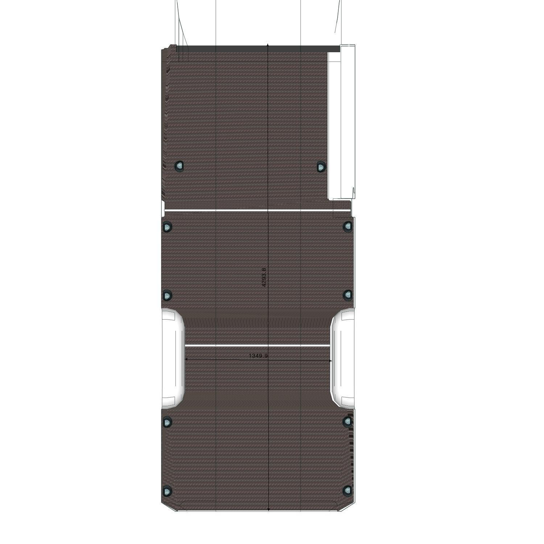 Plancher Sprinter Utilitaire L3 Porte Latérale Droite