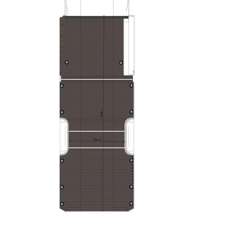 Plancher Sprinter Utilitaire L3L Porte Latérale Droite
