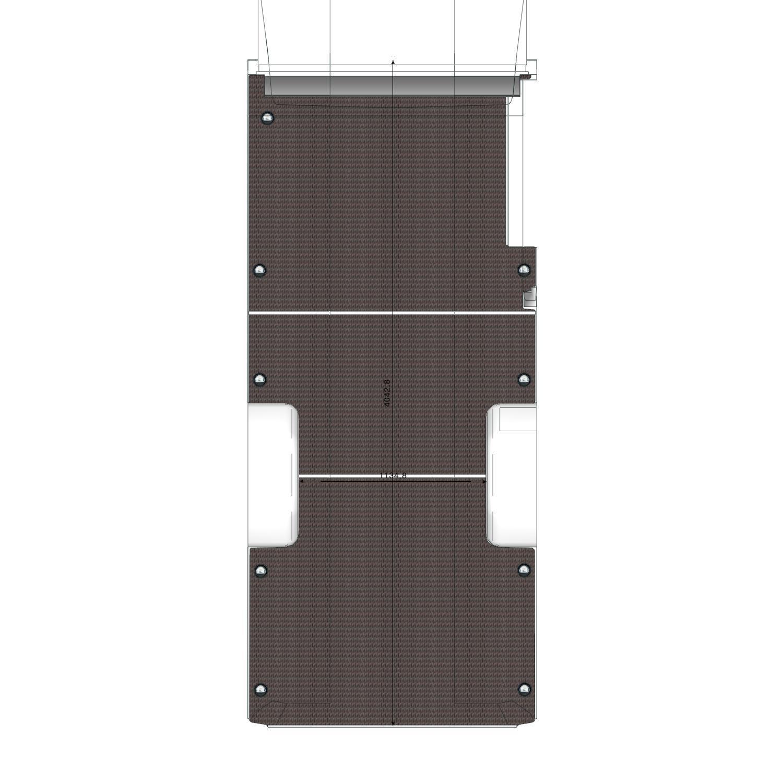 Plancher Transit Utilitaire L3L Propulsion roues jumelées