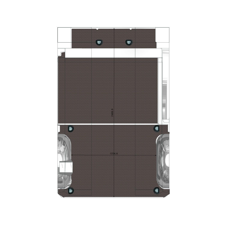 Plancher Vito Utilitaire L1 Porte Latérale Droite