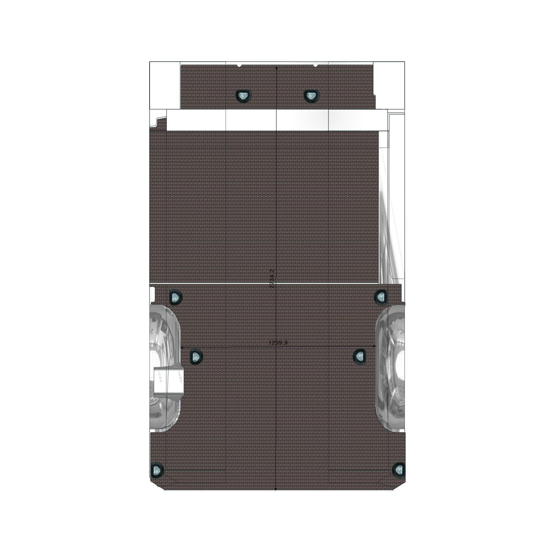 Plancher Vito Utilitaire L1L Porte Latérale Droite