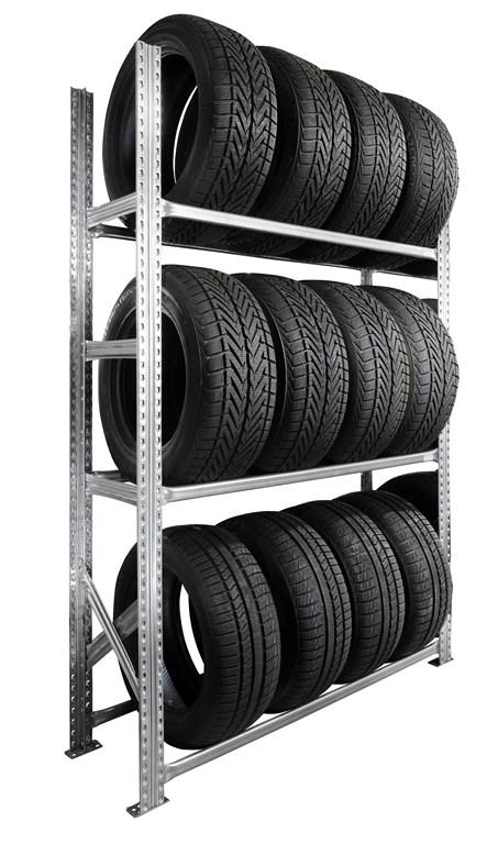 Rack à pneus 3 niveaux P.50 cm