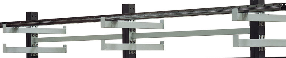 Rayonnage cantilever léger, Kit rayonnage porte barres