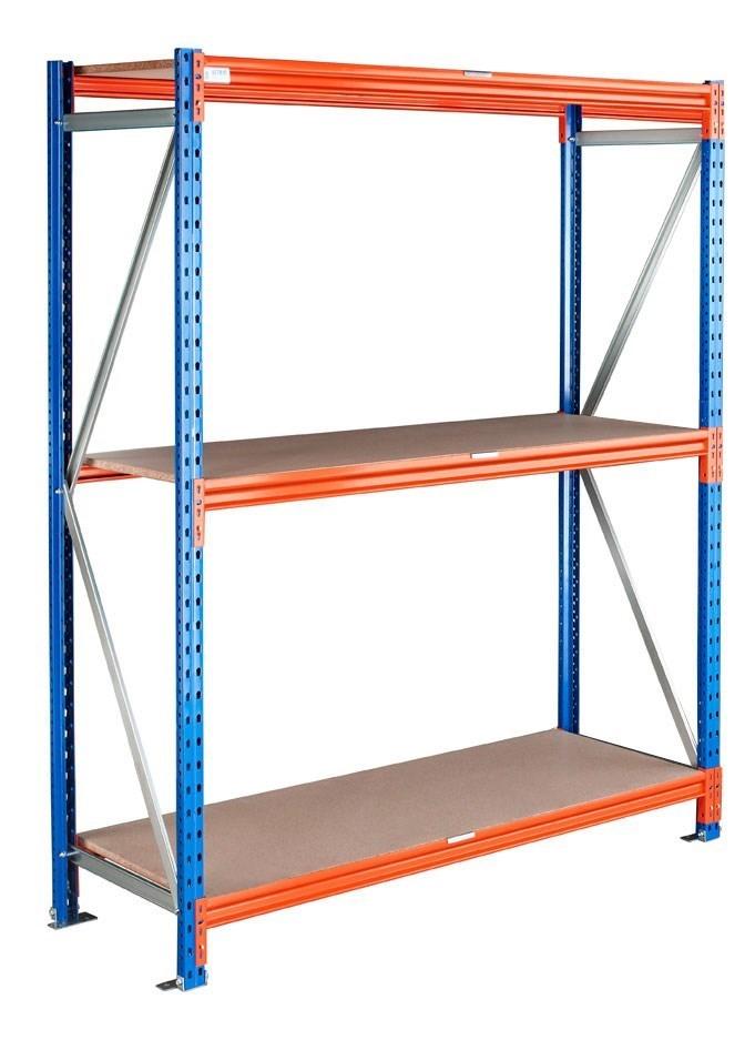 Rayonnage grande hauteur 505 kg L.240 x P.60 x H.300 cm