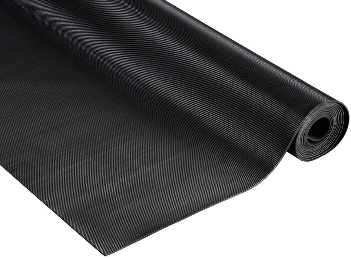 Rouleau tapis caoutchouc antidérapant strié longueur 10 m