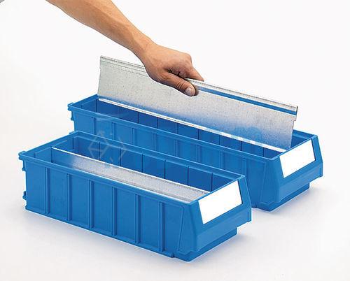 s parateur longitudinal pour bac tiroir plastique multibox. Black Bedroom Furniture Sets. Home Design Ideas