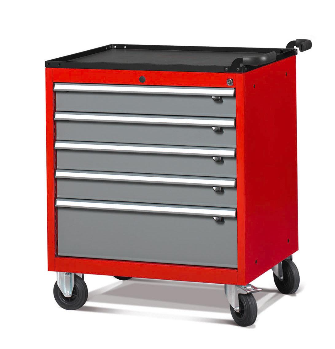 Servante atelier 5 tiroirs modèle large