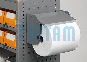 support pour rouleau essuie tout 240 mm setam. Black Bedroom Furniture Sets. Home Design Ideas