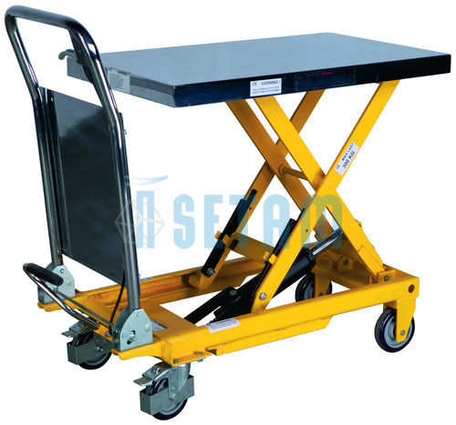 table l vatrice mobile simple ciseaux charge 500 kg. Black Bedroom Furniture Sets. Home Design Ideas