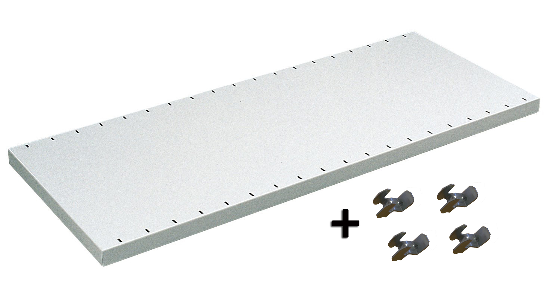 Tablette rayonnage Universel peint L.970 x P.350 mm charge 110 kg