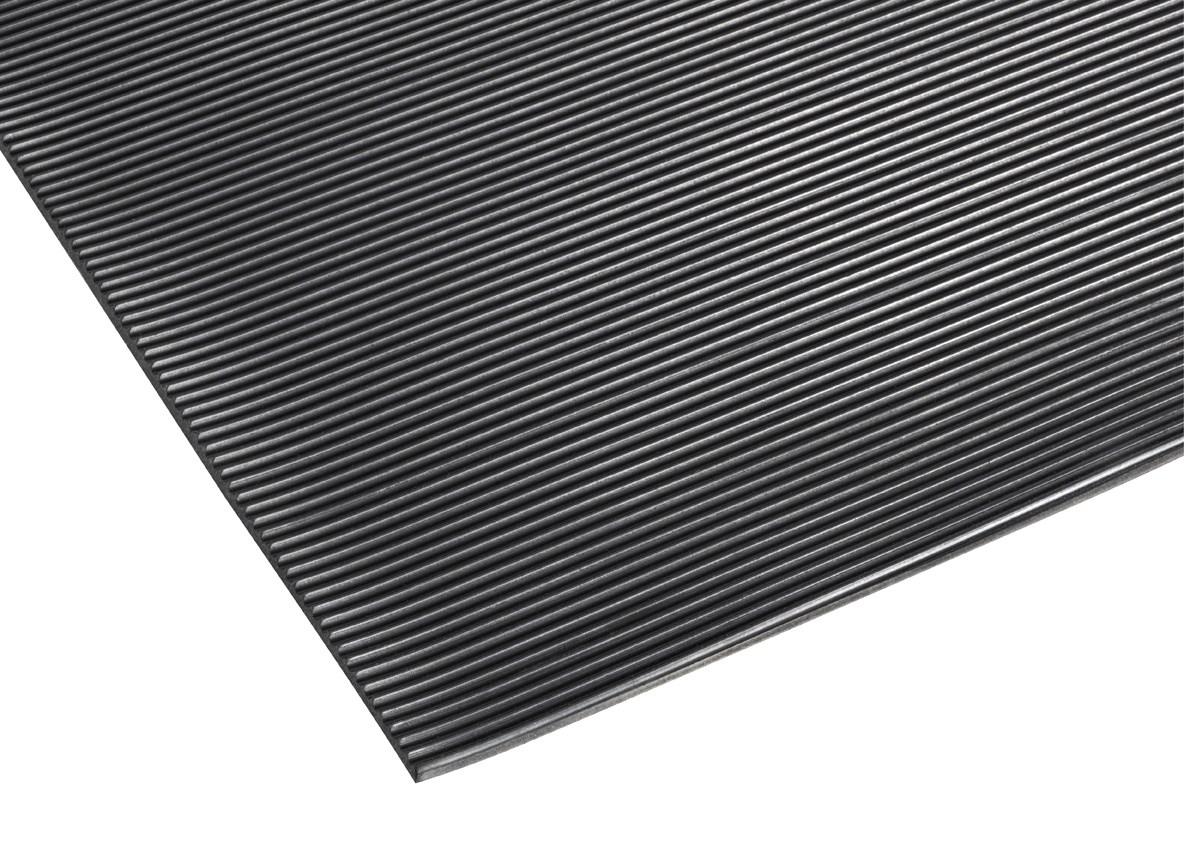 Tapis antidérapant avec stries vendu au mètre