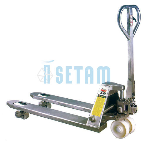 Transpalette inox transpal galva alimentaire 2000 kg for Inox alimentaire