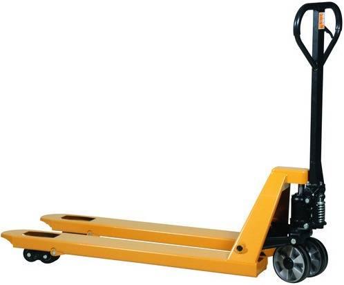 Transpalette long fourches 150 cm charge 2 tonnes