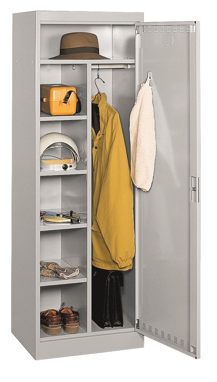 Vestiaire armoire personnelle avec tablettes